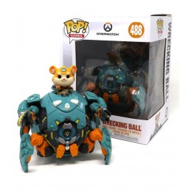 Overwatch Oversized POP! Games Vinyl Figura Wrecking Ball 488