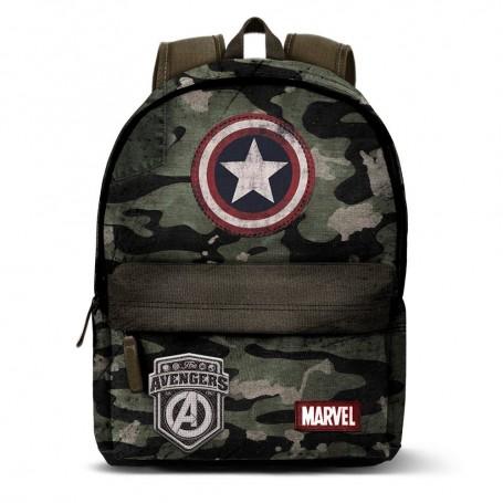 Mochila Capitan America Army Marvel