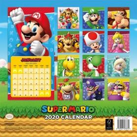 Super Mario Calendario 2020