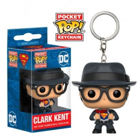 Llavero Pocket POP DC Superman Clark Kent
