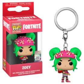 Llavero Pocket POP Fortnite Zoey