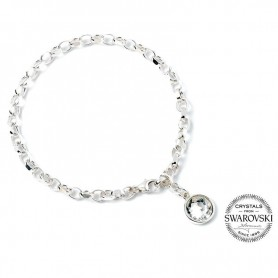 Pulsera Harry Potter plata swarovski Crystal