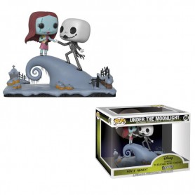 Pesadilla antes de Navidad Pack de 2 POP! Movie Moments Vinyl Cabezón Jack & Sally 9 cm