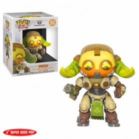 Overwatch Super Sized POP! Games Vinyl Figura Orisa 15 cm