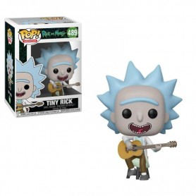 Rick y Morty POP! Animation Vinyl Figura Tiny Rick 9 cm 489