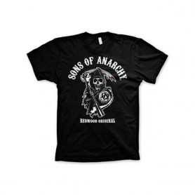 Camiseta Sons of Anarchy Logo Redwood SOA