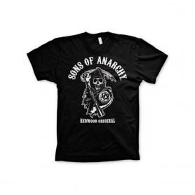 Camiseta Sons of Anarchy Logo Redwood SOA