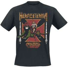 Camiseta Hero of Eternia Masters del Universo