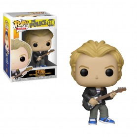 The Police POP! Rocks Vinyl Figura Sting 9 cm