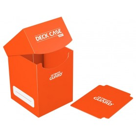Ultimate Guard Deck Case 100+ Caja de Cartas Tamaño Estándar Naranja