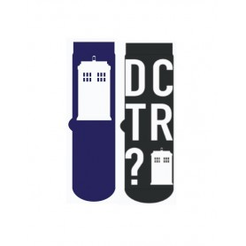 Doctor Who Pack de 2 Pares de calcetines hombre Tardis