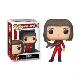 La casa de papel POP! TV Vinyl Figuren Tokio 741