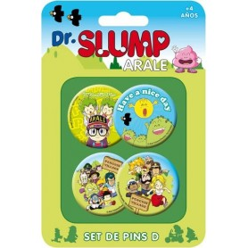 copy of Dr. Slump Pack 4 Chapas Set B