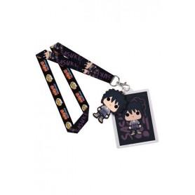 Naruto POP! Llavero Con Cinta & Llavero Caucho Sasuke