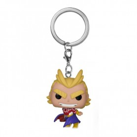 My Hero Academia Llavero Pocket POP! Vinyl All Might (Silver Age) 4 cm