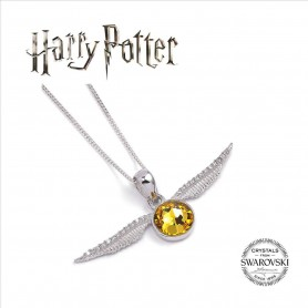 Harry Potter x Swarovski Collar con Colgante Golden Snitch