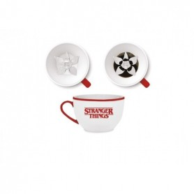 Stranger Things Taza Hidden Feature 3D Demogorgon