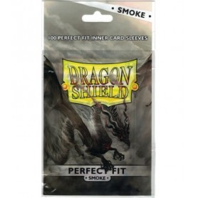 Fundas standard Dragon Shield Fit Smoke - Paquete de 100