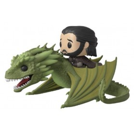 copy of Juego de Tronos POP! Rides Vinyl Figura Daenerys on Fiery Drogon 18 cm