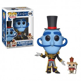 Coraline Figura POP! Movies Vinyl Mr. Bobinsky with Mouse 9 cm