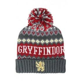 Harry Potter Gorro Beanie Pompon Gryffindor