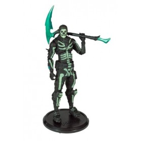 Fortnite Figura Green Glow Skull Trooper (Glow-in-the-Dark) Walgreens Exclusive 18 cm