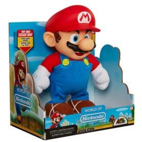 Muñeco Super Mario Saltador Nintendo 25cm