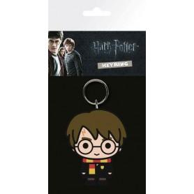 Harry Potter Llavero caucho Chibi 7 cm