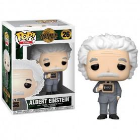 Albert Einstein Figura POP! Icons Vinyl Albert Einstein 9 cm