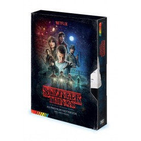 copy of Stranger Things Libreta Premium A5 VHS