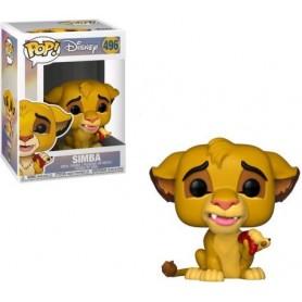 El rey león POP! Vinyl Figura Simba 9 cm