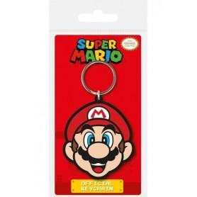 Super Mario Llavero caucho Mario 6 cm