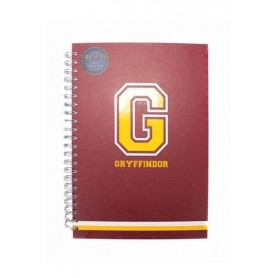 Harry Potter Libreta A4 G for Gryffindor