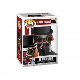 La casa de papel POP! TV Vinyl Figura Professor O Clown 9 cm