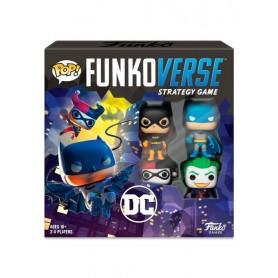 DC Comics Funkoverse Juego de Mesa Pack Base *Edición CASTELLANO*