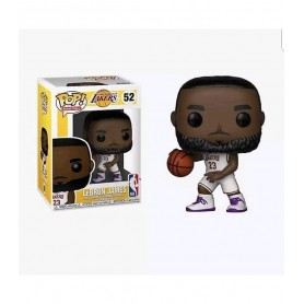 NBA POP! Sports Vinyl Figura LeBron James White Uniform (Lakers) 9 cm