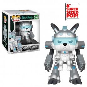 Figura POP Rick & Morty Exoskeleton Snowball 15cm