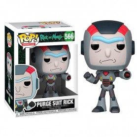 Figura POP Rick & Morty Purge Suit Rick