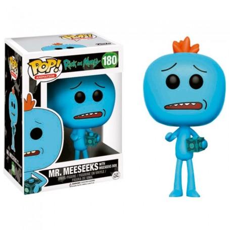 Figura POP Rick & Morty Mr Meeseeks Exclusive