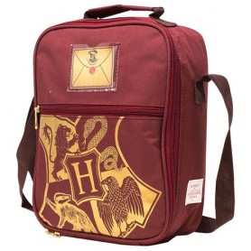 Bolsa portameriendas termo Hogwarts Harry Potter red