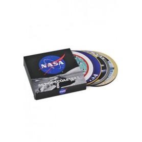 NASA Pack de 4 Posavasos Badges