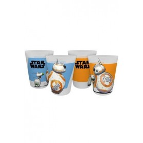 Star Wars IX Pack de 4 Vasos