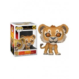 El rey león (2019) POP! Vinyl Figura Simba 9 cm