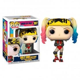 Figura POP DC Birds of Prey Harley Quinn Roller Derby