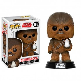 Figura POP Star Wars The Last Jedi Chewbacca with Porg