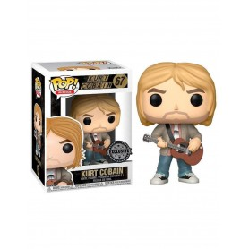 Nirvana POP! Rocks Vinyl Figura Kurt Cobain MTV Unplugged Exclusive 9 cm