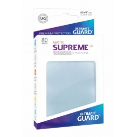 Ultimate Guard Supreme UX Sleeves Fundas de Cartas Tamaño Estándar Transparente Mate (80)
