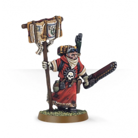 Misionero con espada sierra