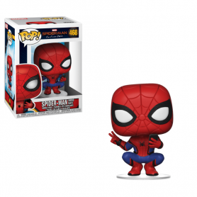 Spider-Man: Far From Home POP! Movies Vinyl Spider-Man (Hero Suit) 9 cm
