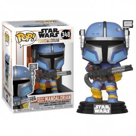 Star Wars The Mandalorian Figura POP! TV Vinyl Heavy Infantry Mandaloria 9 cm
